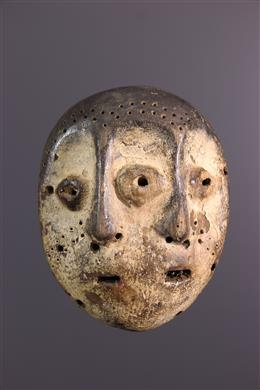 Afrikaanse kunst - Bifacial Lega Masker