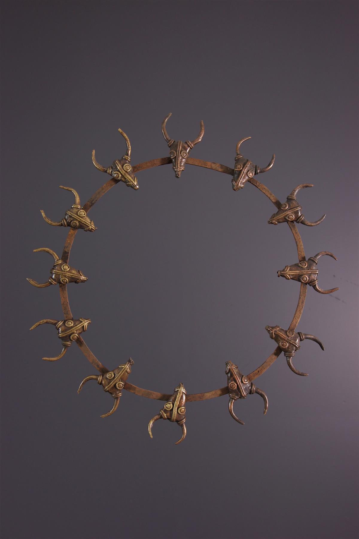 Bronzen Bamoun - Afrikaanse kunst