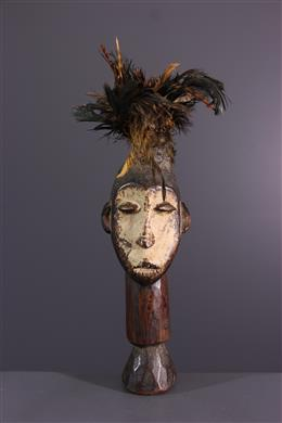 Afrikaanse kunst - Lega du Bwami beeldje