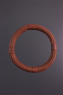 Afrikaanse kunst - Traditionele Himba halsketting in koper