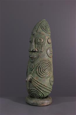 Mambila bronzen buste
