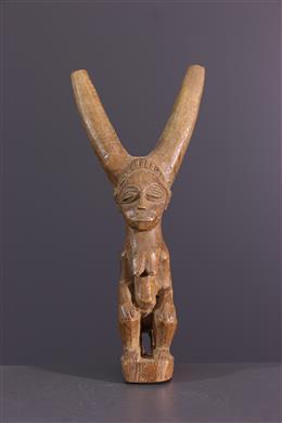 Afrikaanse kunst - Baoule, Baoulé slingshot
