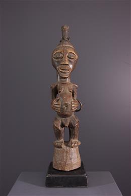 Afrikaanse kunst - Songue Nkishi standbleed