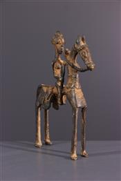 bronze africainDogon ruiter