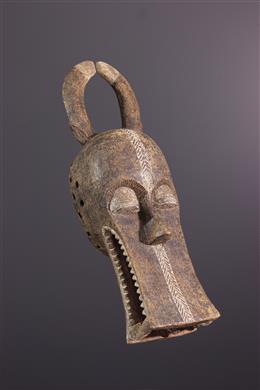 Afrikaanse kunst - Bonu Amwin Baule helm masker