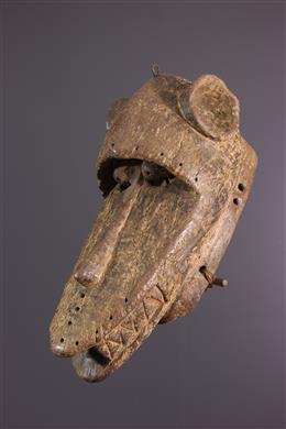 Afrikaanse kunst - Baule apenmasker