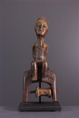 Afrikaanse kunst - Stirrup van een weefgetouw Baule, Baoule