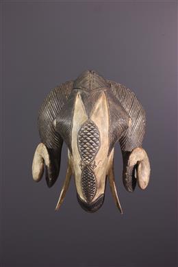 Afrikaanse kunst - Baule ram masker