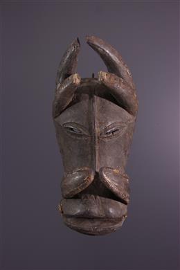 Afrikaanse kunst - Dierenmasker Gouro/Bété du Dje