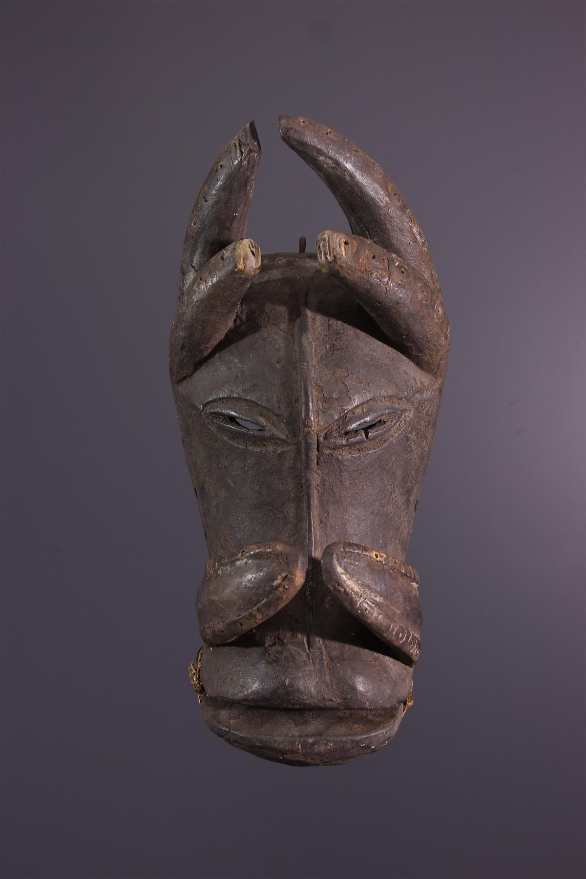 Guro masker - Afrikaanse kunst