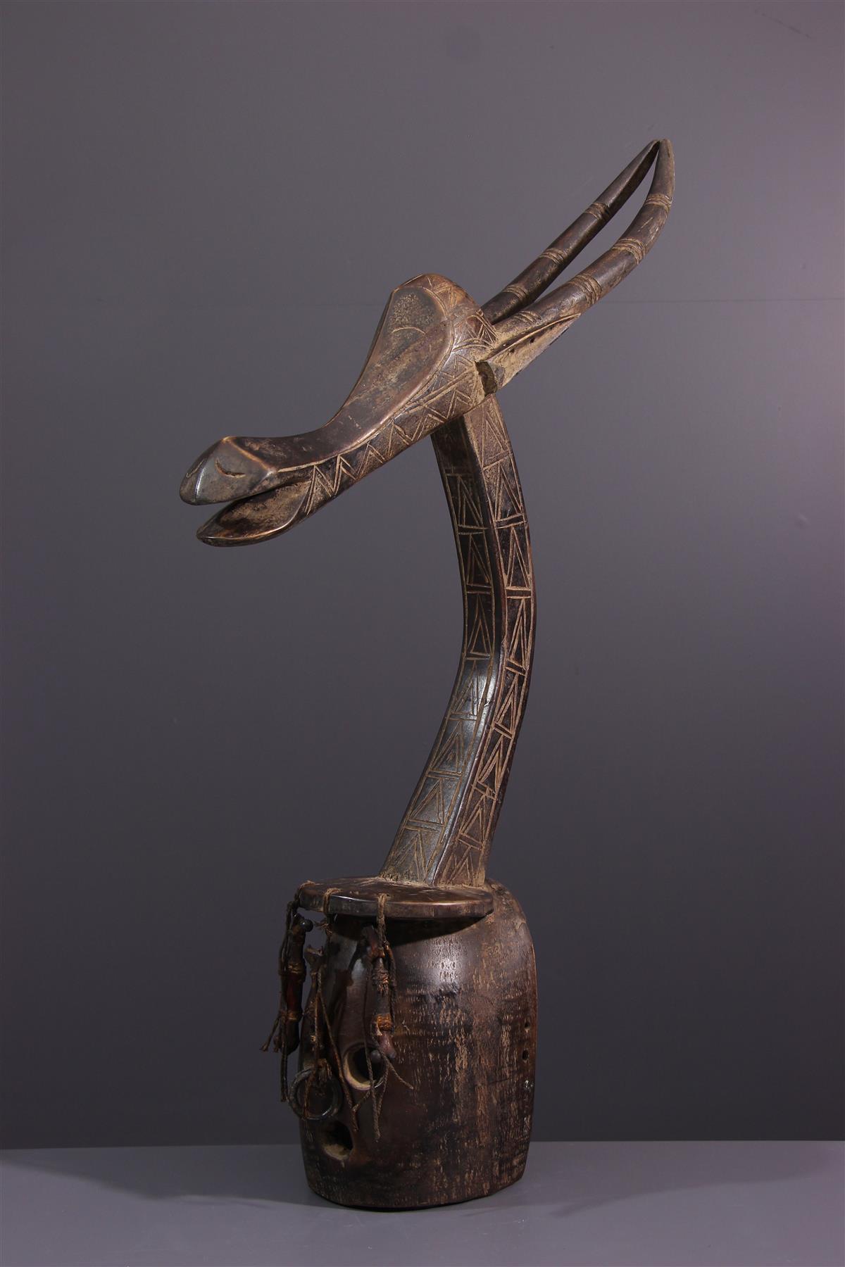 Kurumba masker - Afrikaanse kunst