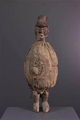 Afrikaanse kunst - Teke Biteke fetisj standbeeld