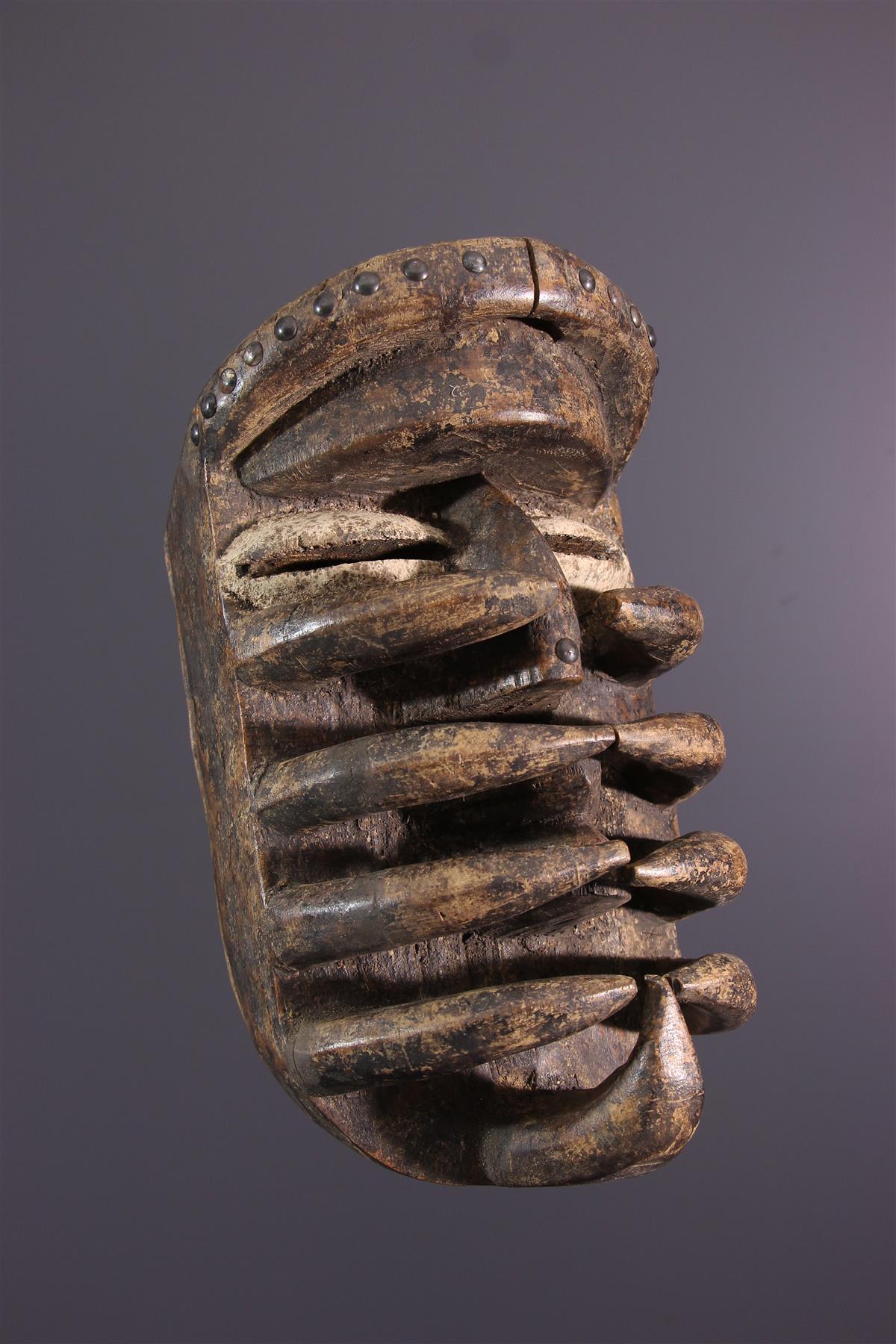 Bété masker - Afrikaanse kunst