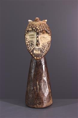 Afrikaanse kunst - Lega Iginga Janiform Buste