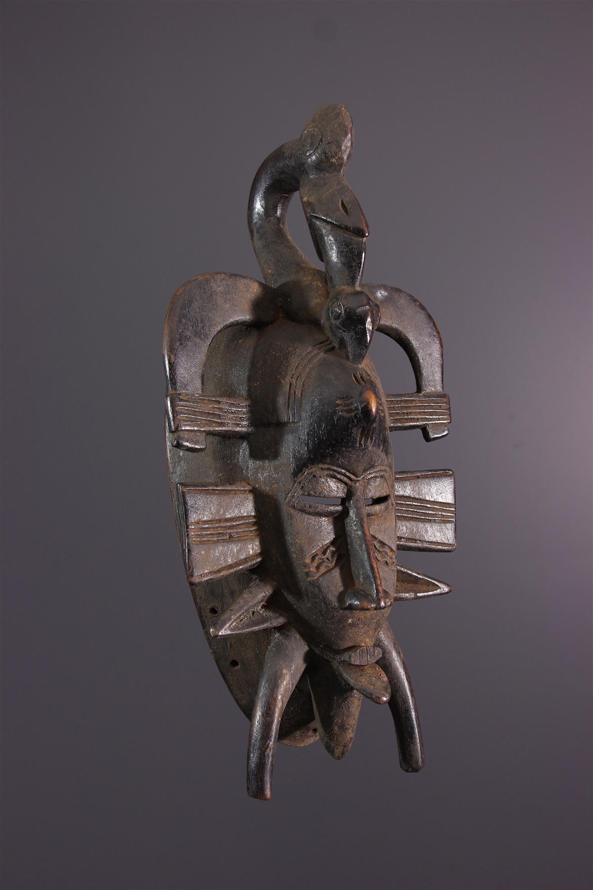 Senoufo masker - Afrikaanse kunst