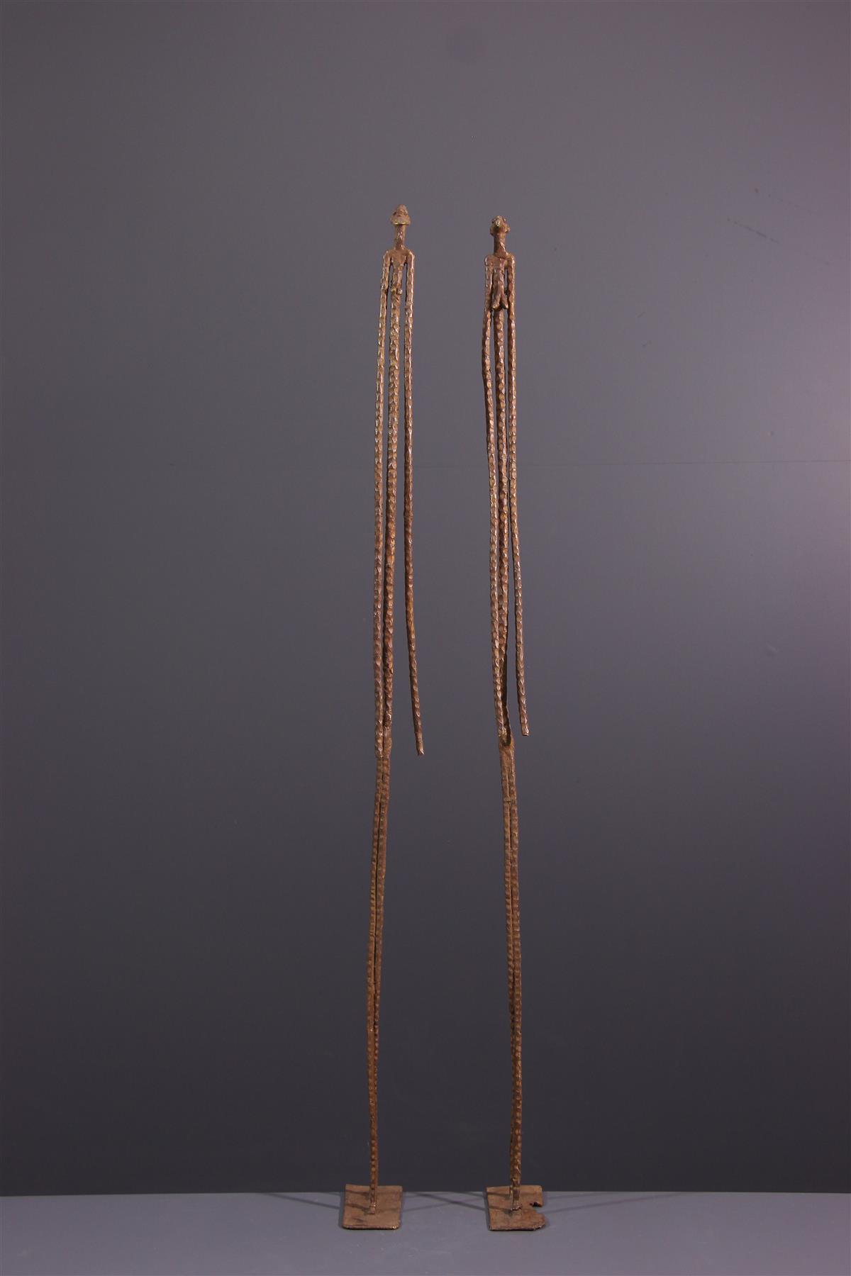 Dogon standbeeld - Afrikaanse kunst