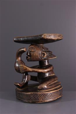 Afrikaanse kunst - Luba Shankadi hoofdsteun