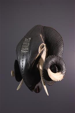 Afrikaanse kunst - Dierenmasker Baule, Baule