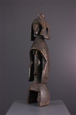 Afrikaanse kunst - Mumuye Lagalagana standbeeld