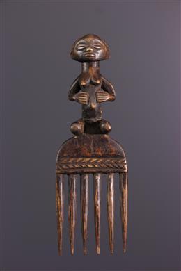 Afrikaanse kunst - Luba kam