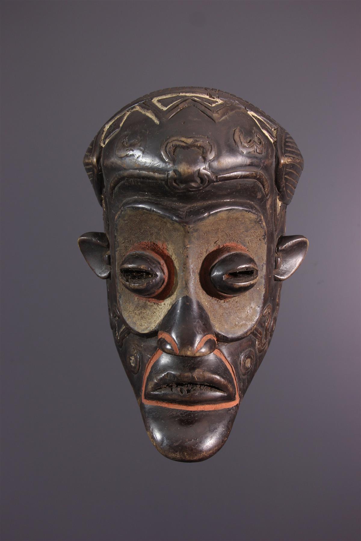 Bena Lulua masker - Afrikaanse kunst