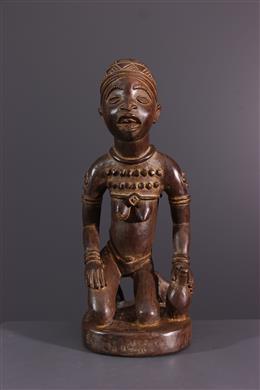 Afrikaanse kunst - Kongo Yombe beeldje