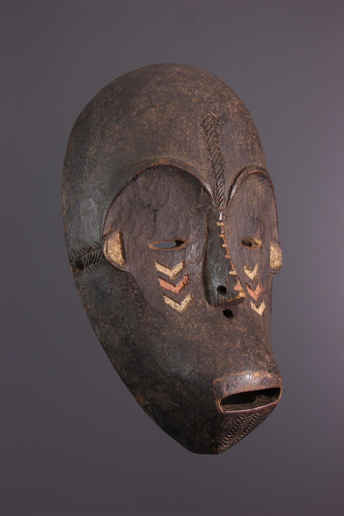 Gbandi masker - Afrikaanse kunst