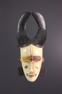 Afrikaanse kunst - Ligbi/Djimini du Dô Siginkuru masker