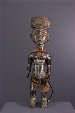 Afrikaanse kunst - Lwena standbeeld