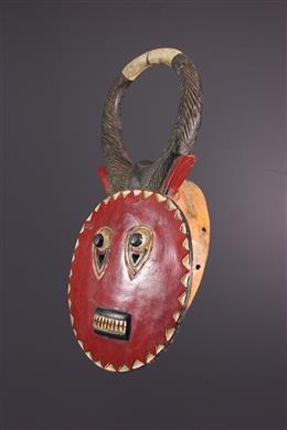 Afrikaanse kunst - Kplé kplé du Goli Baule masker