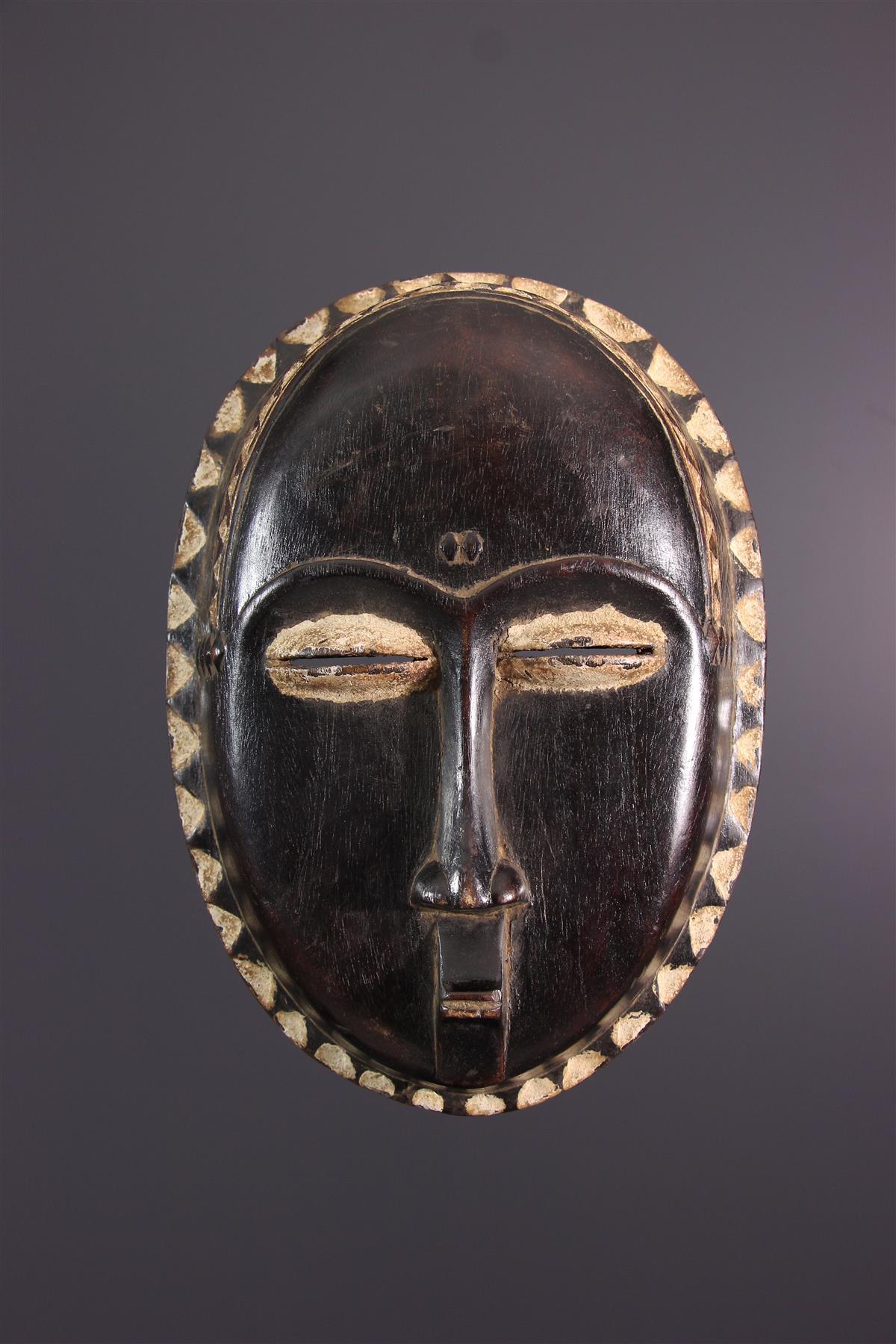 Baoule mask - Afrikaanse kunst