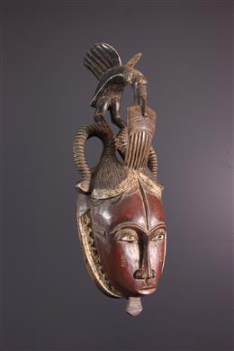 Afrikaanse kunst - Yohoure, Yaure Anoman masker