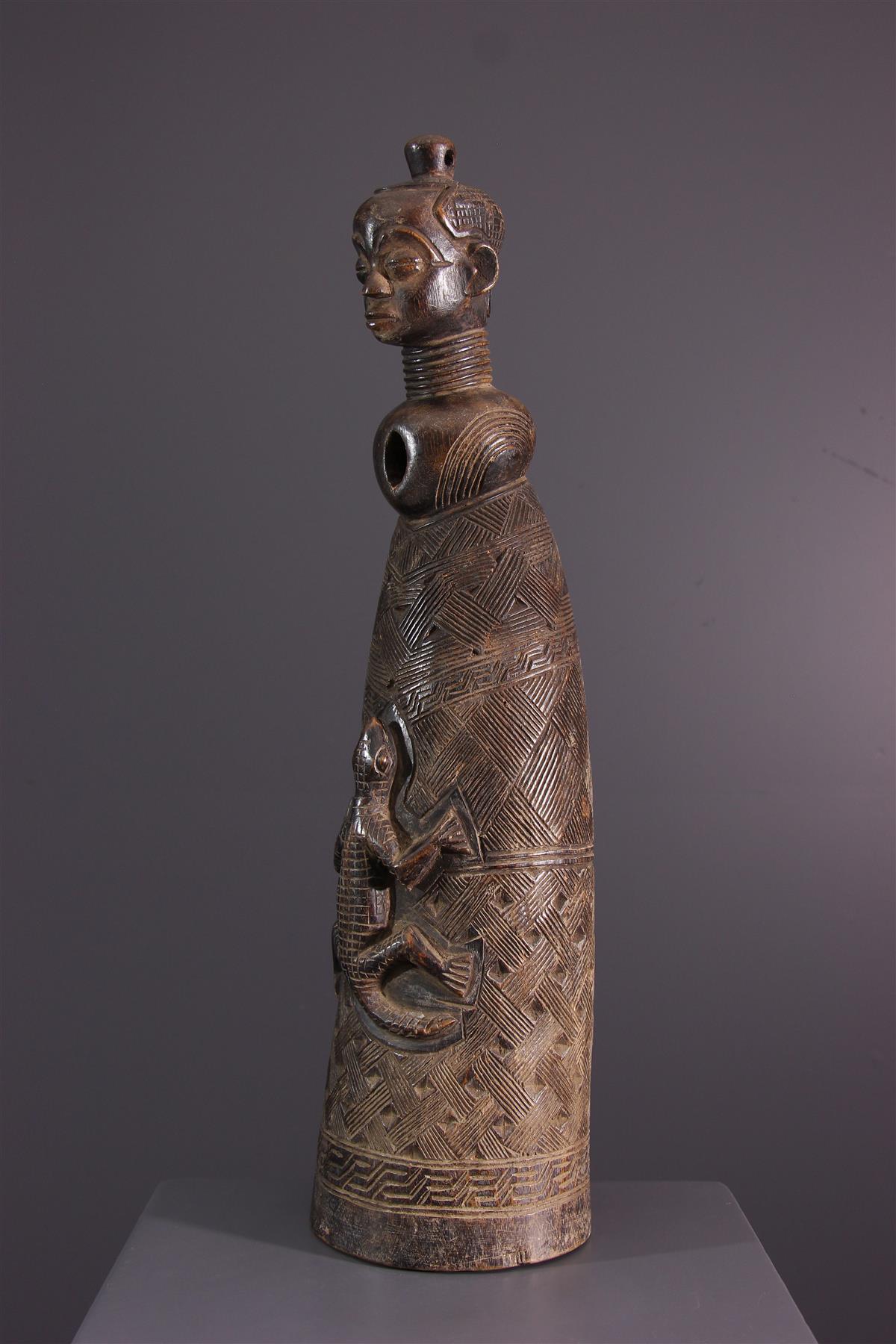 Kuba hoorn - Afrikaanse kunst