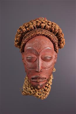 Afrikaanse kunst - Chokwe Mukishi wa Mwana Pwo masker