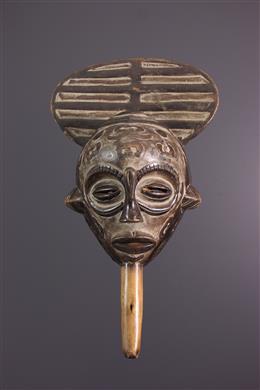 Afrikaanse kunst - Bena Lulua masker