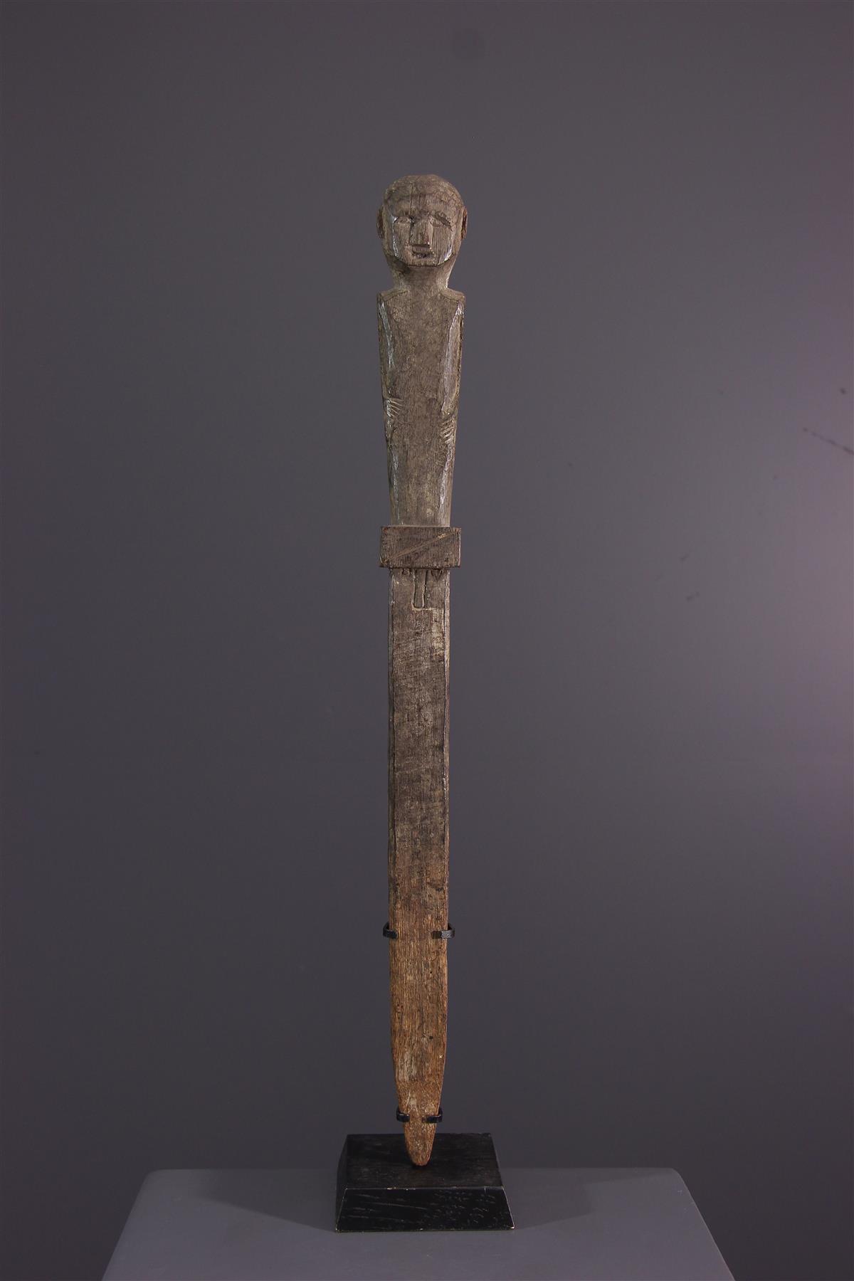 Bongo beeldje - Afrikaanse kunst