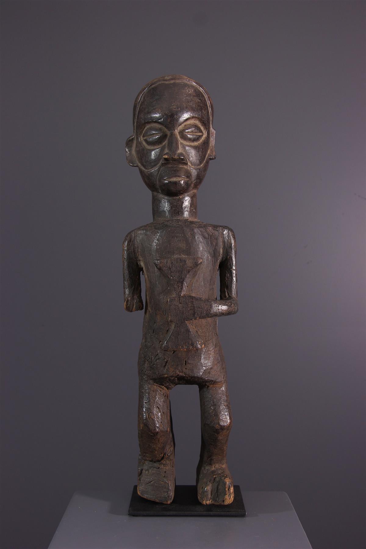 Holo standbeeld - Afrikaanse kunst