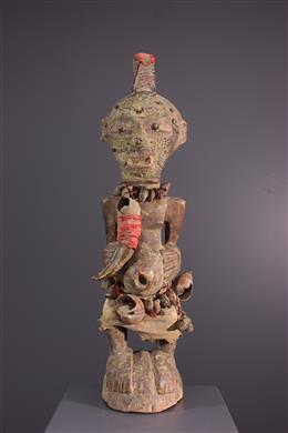 Afrikaanse kunst - Nkisi Songye Kalebwe standbeeld