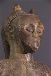 Statues africainesZula standbeeld