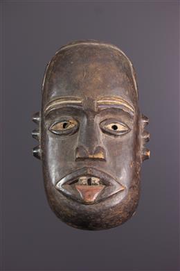 Afrikaanse kunst - Kongo masker