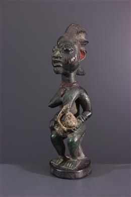 Afrikaanse kunst - Yoruba moederschapsbeeldje