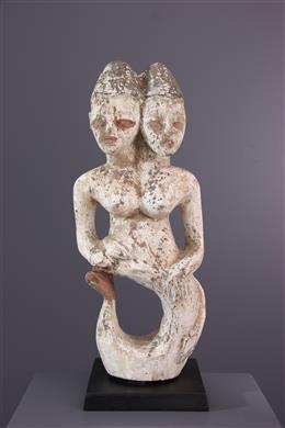 Afrikaanse kunst - Ritueel beeld ooi zeemeermin van het water