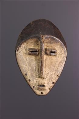 Afrikaanse kunst - Lega Lukwakongo klein masker