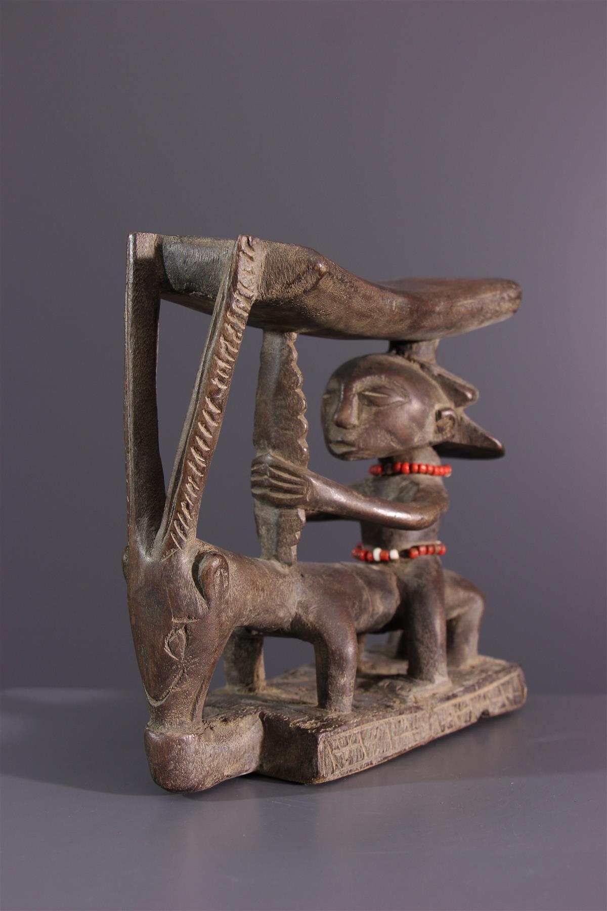 Shankadi neksteun - Afrikaanse kunst