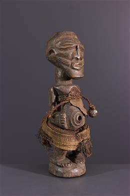 Afrikaanse kunst - Songye Nkisi fetisj beeldje