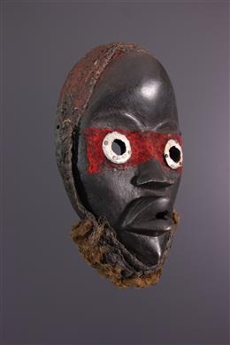 Afrikaanse kunst - Dan Gunye ge masker - Ivoorkust