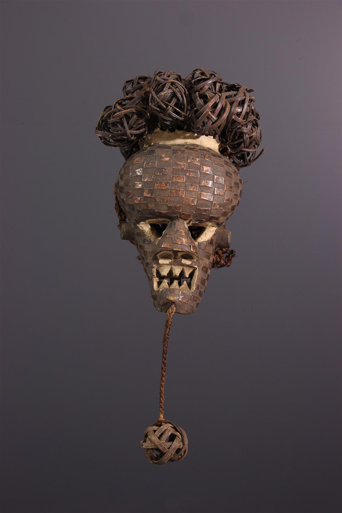 Salampasu masker - Afrikaanse kunst