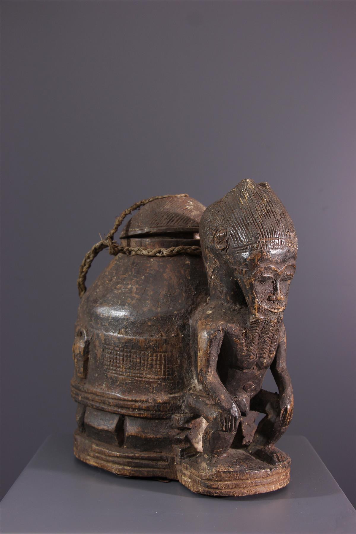 Baule doos  - Afrikaanse kunst