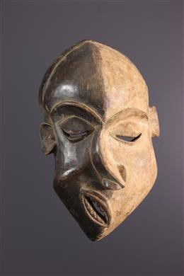 "Afrikaanse kunst - Groot Pende Nsembu ""epileptisch"" masker"
