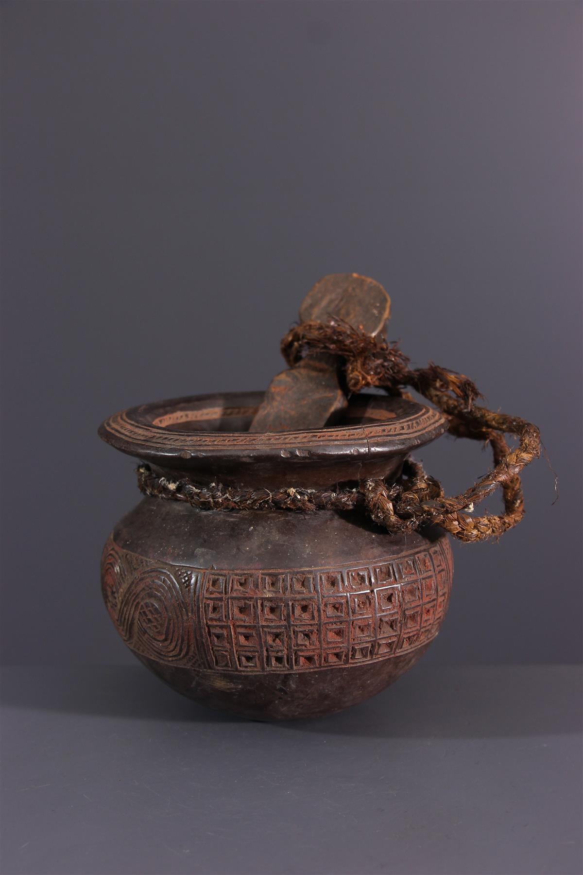 Tschokwe pot - Afrikaanse kunst